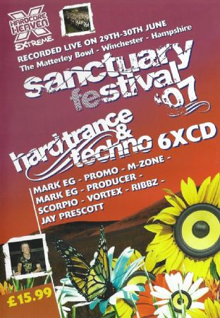 Sanctuary Festival - 2007 - Hard Trance & Techno pack
